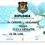 I.B.S.S.A instructor